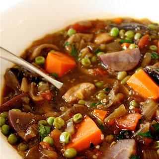 Vegetarian Vegetable Stew.