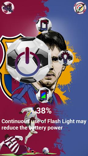 flash led aura tourch light