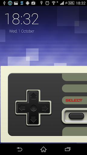 Gamepad Screen Locker