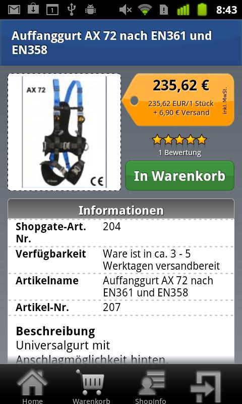 godo-shop.de - screenshot