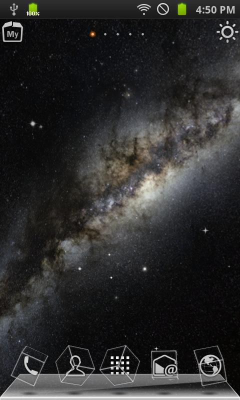 Galaxy_skybox_3D LiveWallpaper - screenshot