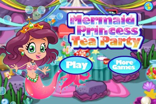 Mermaid Princess Tea Party