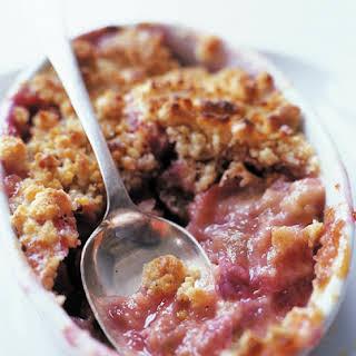 Rhubarb Crisp No Oats Recipes.