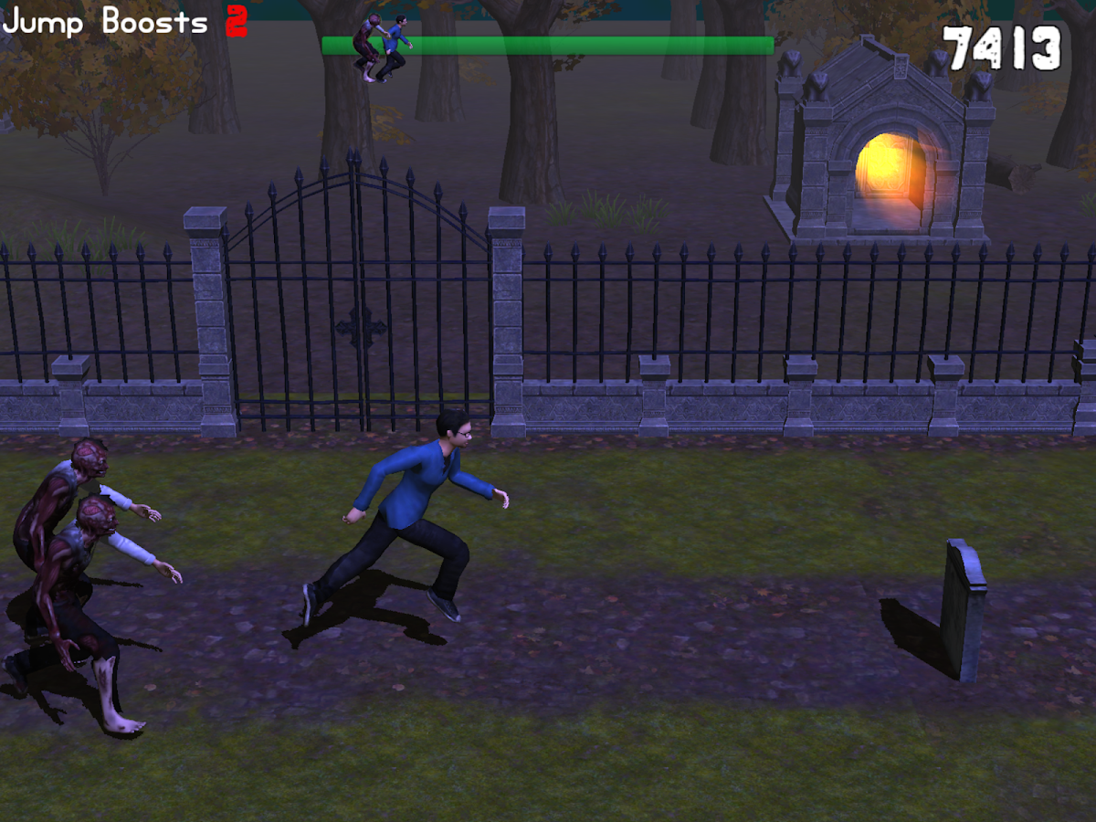 Zombie Halloween Dash- screenshot