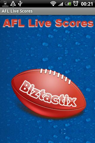 AFL Live Scores - screenshot