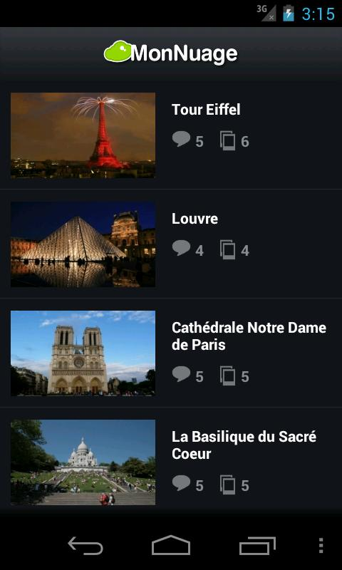 Paris - Guide de Voyage - screenshot