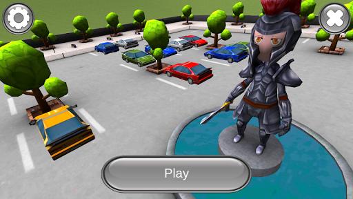 卡通停车场3D