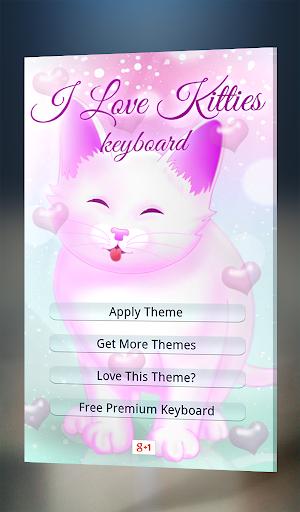 I Love Kitties Keyboard