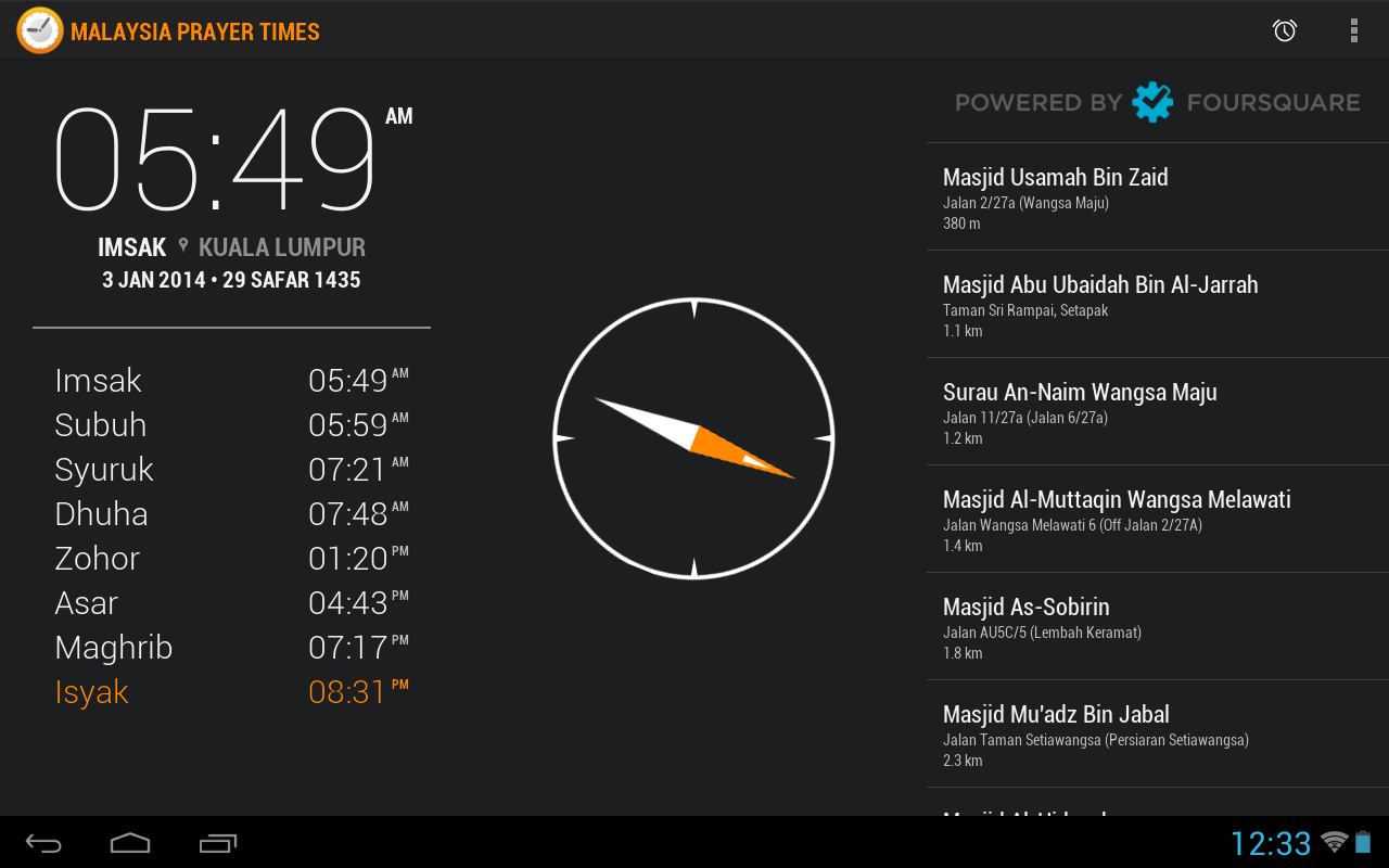 Malaysia Prayer Times Android Apps On Google Play