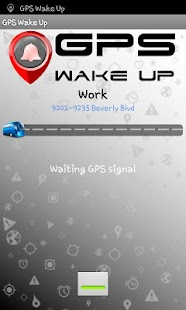 Wake Up GPS - screenshot thumbnail