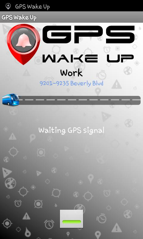 Wake Up GPS - screenshot