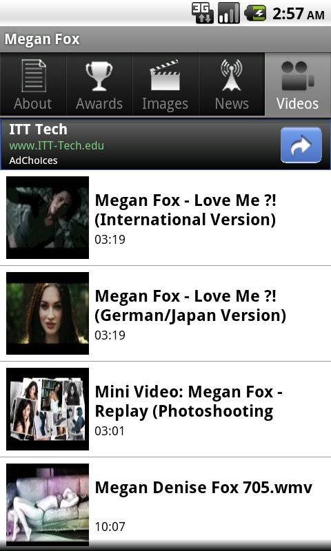 Megan Fox - screenshot