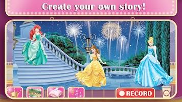 Screenshot of Disney Princess: Story Theater