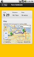 Screenshot of TaxiMate
