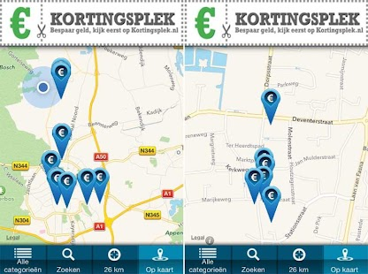 Kortingsplek- screenshot thumbnail