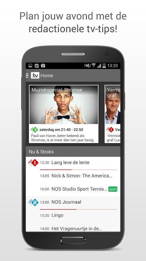 TVGiDS.tv - dé tv gids app- screenshot