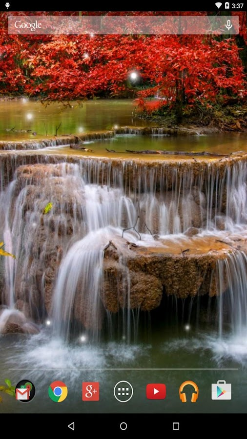 Waterfall live wallpaper android apps on google play for Decor live beautiful app