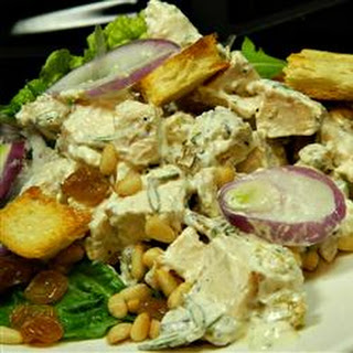 Chicken Salad With Pine Nuts and Raisins