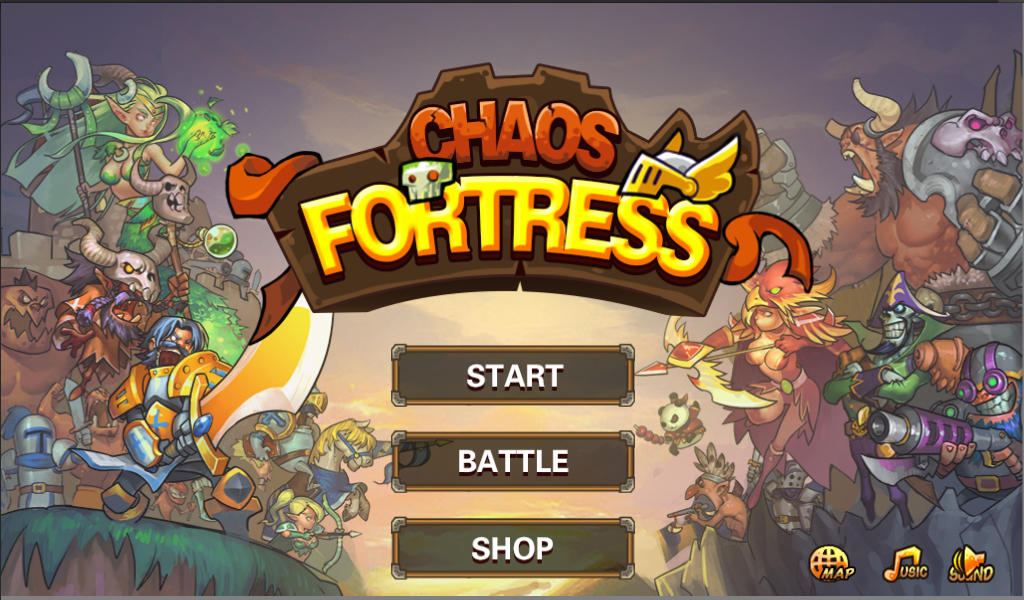 Chaos Fortress- screenshot