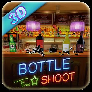 शूटिंग बोतल 3 डी गेम APK
