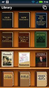 LDS Scriptures App- screenshot thumbnail