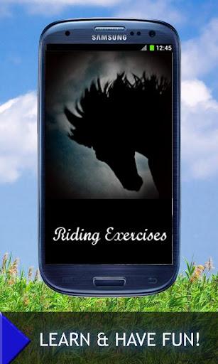 Horse riding exercises