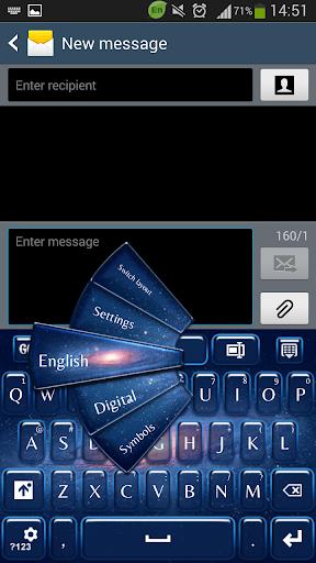 GO键盘银河
