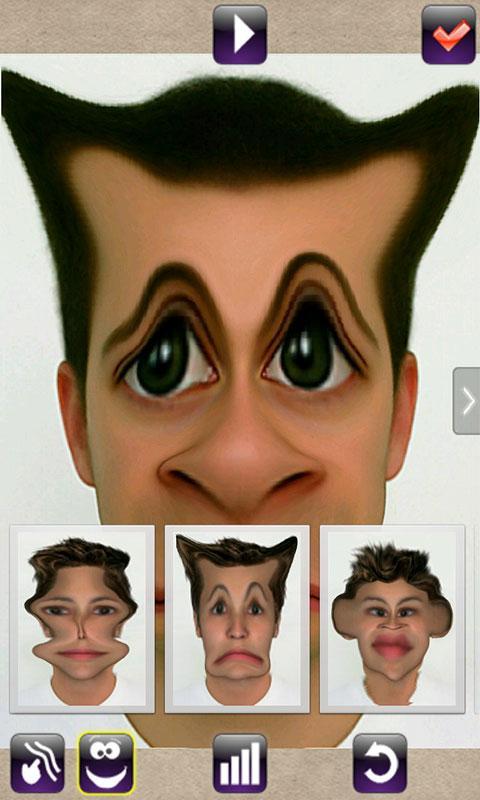 Face Animator - Photo Deformer Pro Screenshot 3
