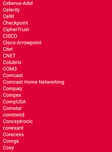 無線LANルーターのパスワードデフォルト
