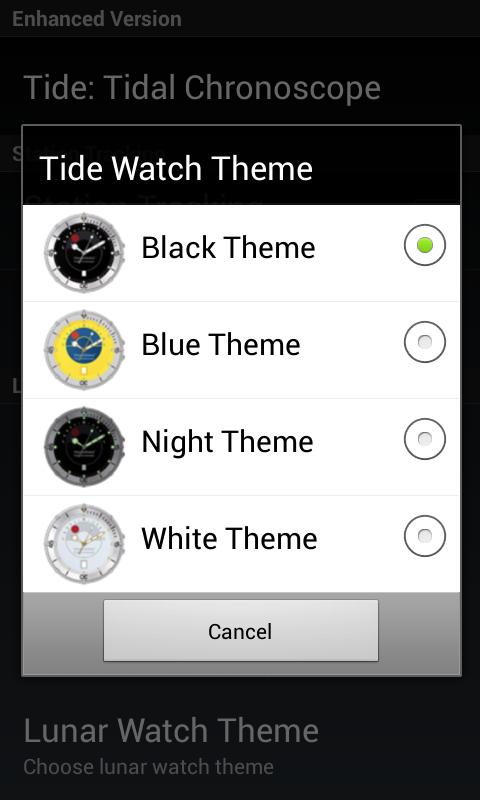 Tidal Chronoscope - screenshot