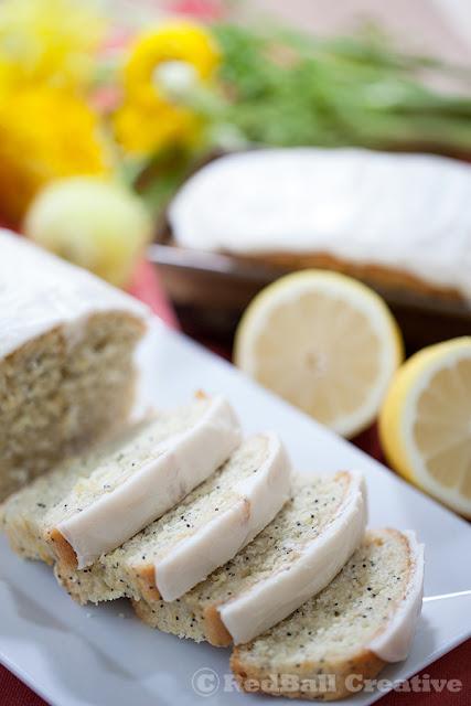 Lemon Poppy Seed loaf
