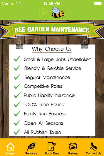 Bee Garden Maintenance