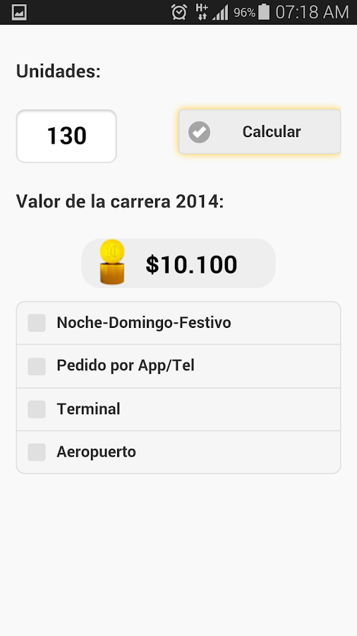 Bogotá Taxi 2015- screenshot
