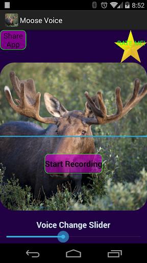Talking Moose Voice Changer