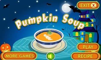 Screenshot of Pumpkin Soup Cooking