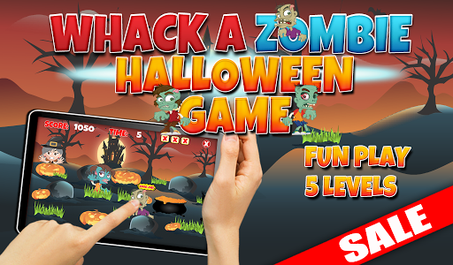 Whack A Zombie Halloween Game