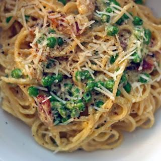 Pasta Carbonara with Ricotta