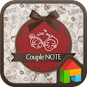 couple note dodol launcher icon