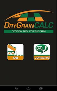 Dry Grain Calculator - screenshot thumbnail