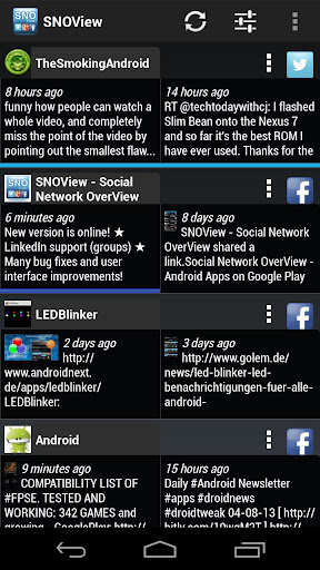 Social Network OverView Lite