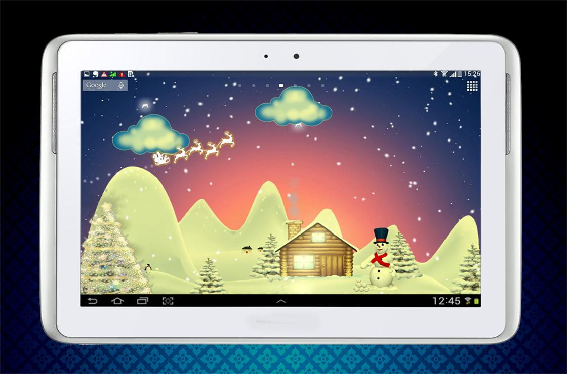 Merry Christmas Live Wallpaper- screenshot