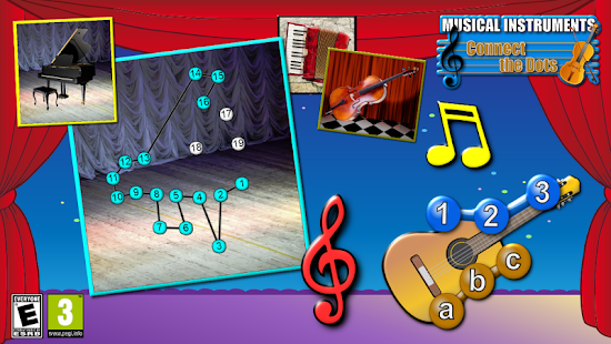 音樂連接點謎題