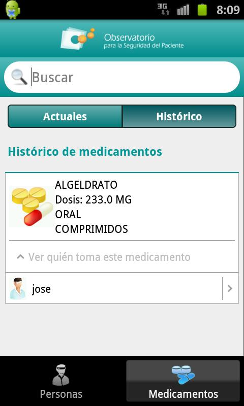 RecuerdaMed - screenshot