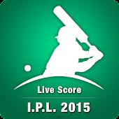 Live Score - I.P.L. 2015
