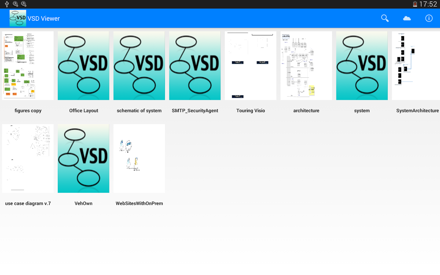 VSD and VSDX Viewer- screenshot
