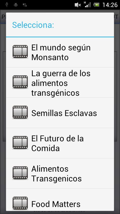 Alimentos Transgenicos GMO - screenshot