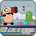 Killer Bean vs Aliens Shooter icon
