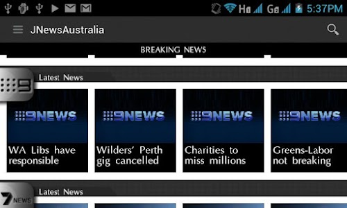 JNewsAustralia screenshot 3