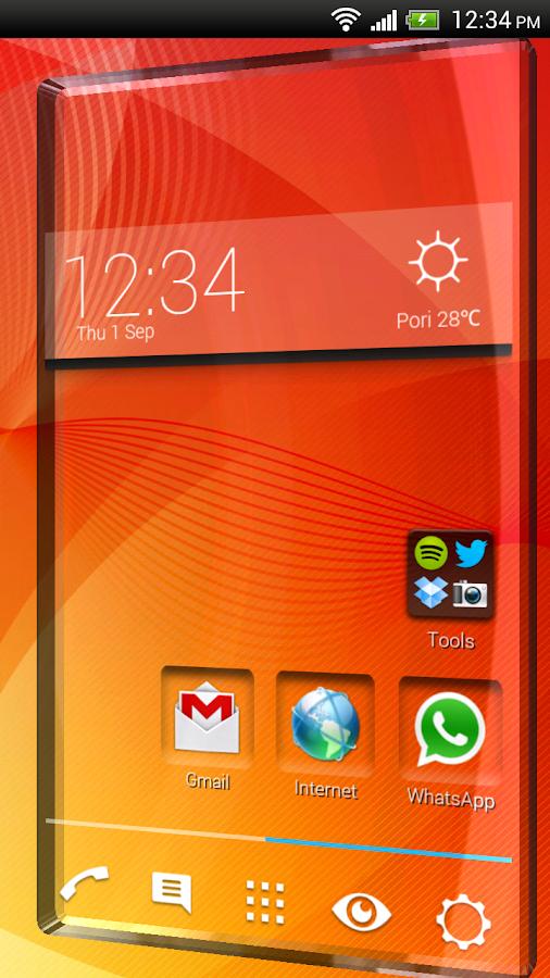 Vire Launcher (donate) - screenshot