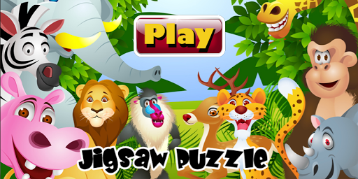 Free Kid Animal Jigsaw